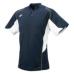 SSKBASEBALL2 ボタンベースボールT シャツ ネイビーXホワイト