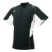 SSKBASEBALL2 ボタンベースボールT シャツ ブラックXホワイト
