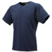 UVカット:ジュニア1ボタンベースボールTシャツ ネイビー