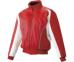 SSKBASEBALL蓄熱グラウンドコート フロントフルZIP(中綿) レッド×ホワイト×ホワイト