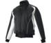 SSKBASEBALL蓄熱グラウンドコート フロントフルZIP(中綿) ブラック×ホワイト×ホワイト