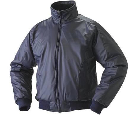 SSKBASEBALLジュニア 蓄熱グラウンドコート フロントフルZIP(中綿) ネイビー