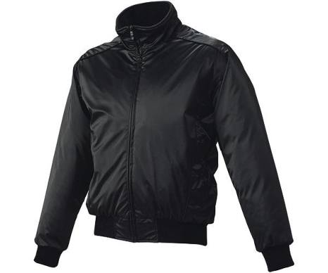 SSKBASEBALL蓄熱グラウンドコート フロントフルZIP(中綿) ブラック