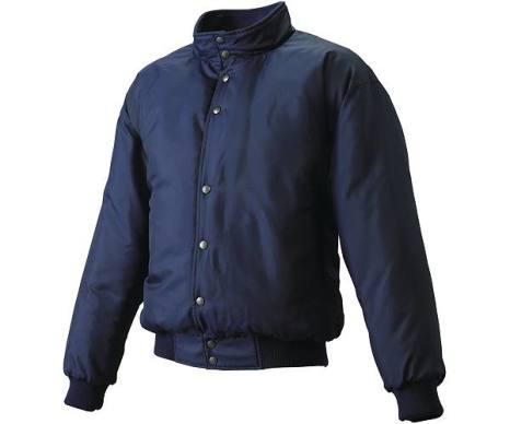 SSKBASEBALLグラウンドコート フロントボタン(中綿) ネイビー