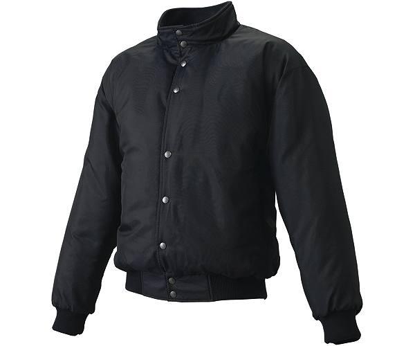 SSKBASEBALLジュニア グラウンドコート フロントボタン(中綿) ブラック