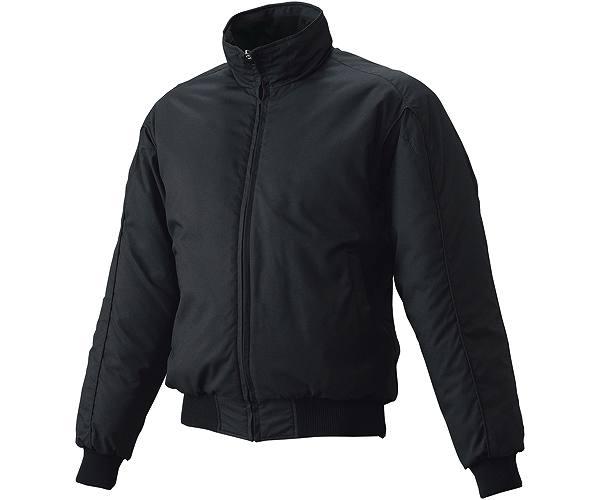 SSKBASEBALLジュニア グラウンドコート フロントフルZIP(中綿) ブラック
