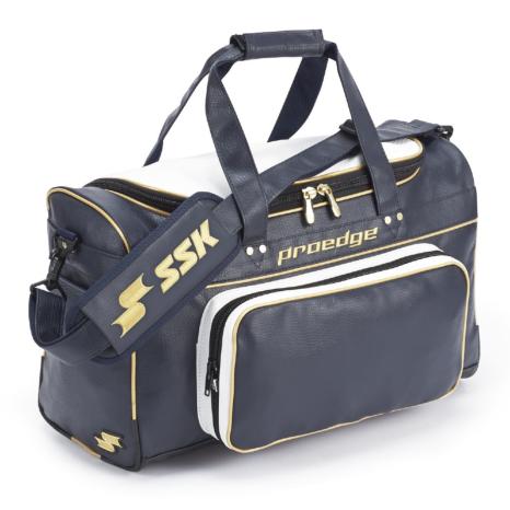 SSKBASEBALL【proedge(プロエッジ)】ショルダーバッグ(51L) ネイビー×ゴールド