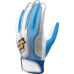 【proedge(プロエッジ)】一般用シングルバンド手袋(両手) ホワイト×ブルー×シルバー