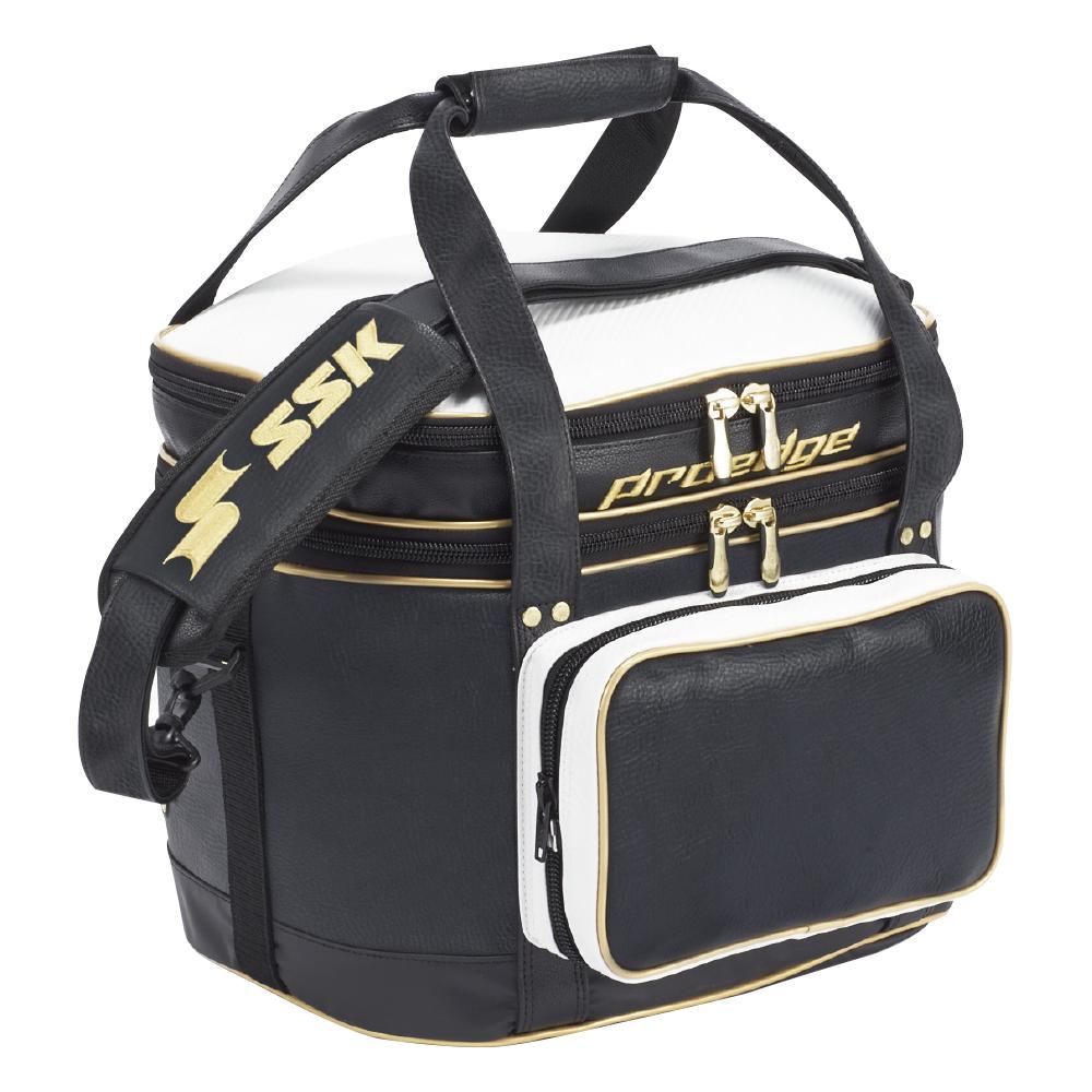 SSKBASEBALL【proedge(プロエッジ)】ボールバッグ(43L) ブラック×ゴールド