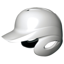SSKBASEBALL軟式打者用両耳付きヘルメット ホワイト