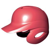 SSKBASEBALL軟式打者用両耳付きヘルメット レッド