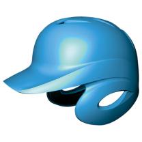 SSKBASEBALL軟式打者用両耳付きヘルメット ブルー