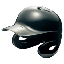 SSKBASEBALL軟式打者用両耳付きヘルメット ブラック