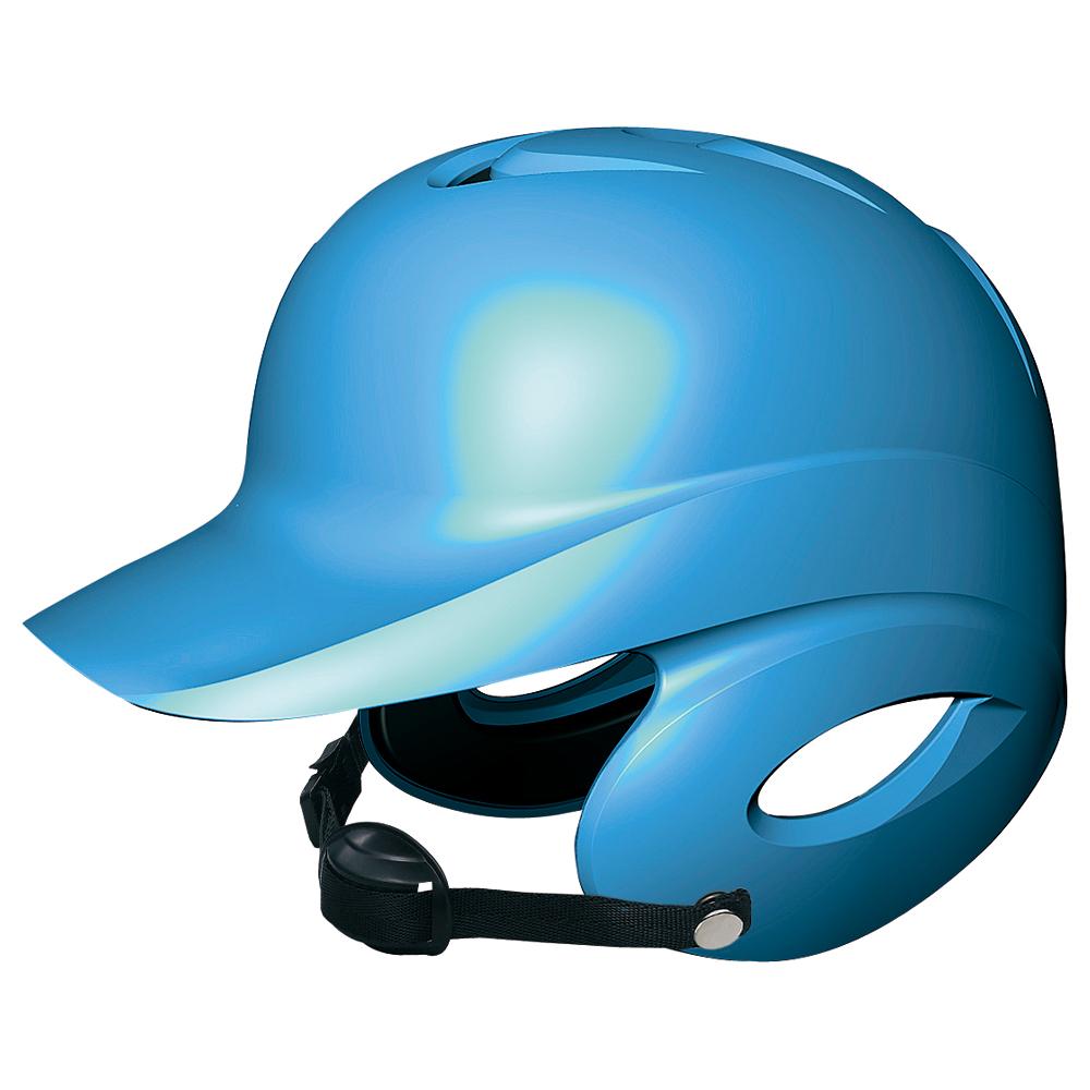 SSKBASEBALL少年硬式打者用両耳付きヘルメット ブルー