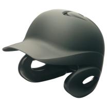 SSKBASEBALL硬式打者用両耳付きヘルメット(艶消し) マットブラック