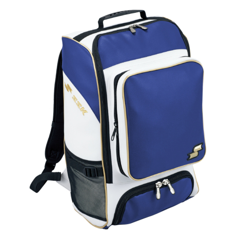 SSKBASEBALLバックパック(30L) Dブルー×ゴールド