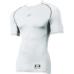 SSKBASEBALLジュニアSCβやわらかローネック半袖フィットアンダーシャツ ホワイト
