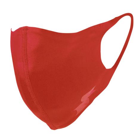 scβアンダーシャツ素材で作った洗えるスポーツマスク (一般用サイズ)限定色レッド