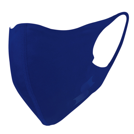 scβアンダーシャツ素材で作った洗えるスポーツマスク (一般用サイズ)Dブルー