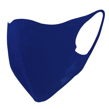 scβアンダーシャツ素材で作った洗えるスポーツ用マスク (小さめ)Dブルー