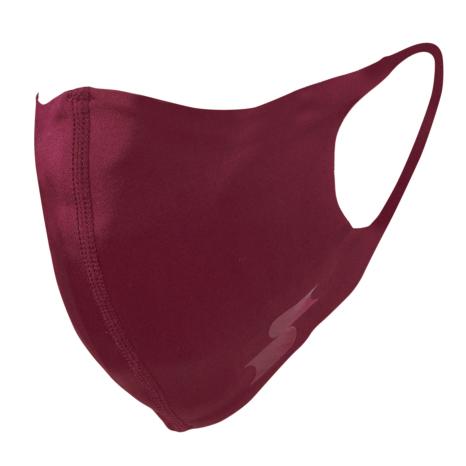 scβアンダーシャツ素材で作った洗えるスポーツ用マスク (大きめ)限定色エンジ