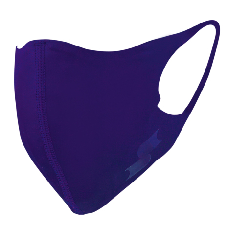scβアンダーシャツ素材で作った洗えるスポーツ用マスク (大きめ)限定色パープル