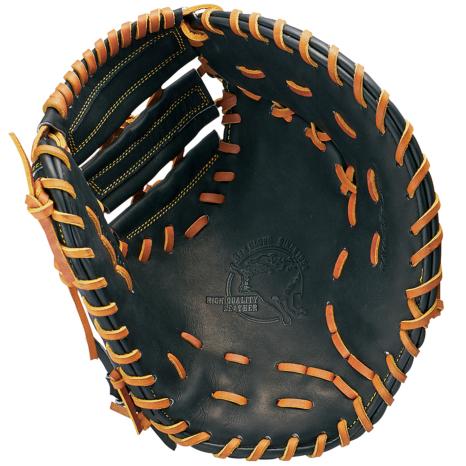 SSKBASEBALL硬式特選ミット一塁手用 ブラック×タン
