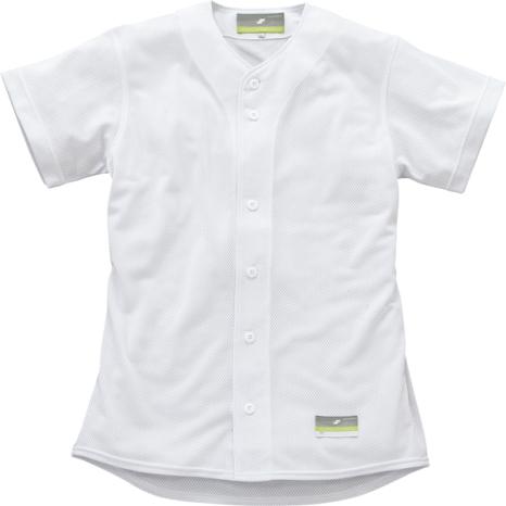 SSKBASEBALL無地メッシュシャツ ホワイト