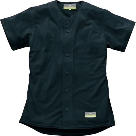 SSKBASEBALL無地メッシュシャツ ブラック