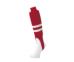 SSKBASEBALLジュニア・レギュラーカットストッキング(リブ編み) レッド×ホワイト